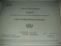 cisco认证证书