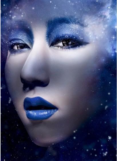 藍色星球化妝造型,洛陽化妝學校