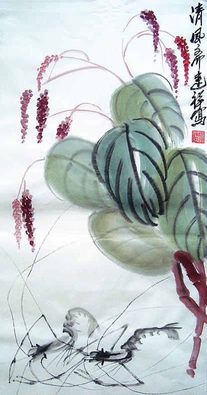 青年花鸟画家姚连祥
