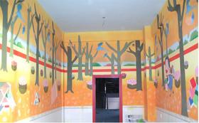 沈阳手绘墙壁画 学校墙壁画 幼儿园墙壁画