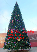 楼盘的大型框架圣诞树