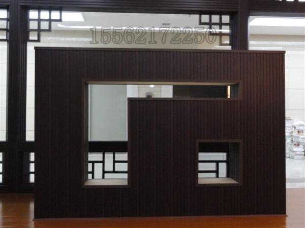 生态木大型内外墙,天花吊顶工装效果图