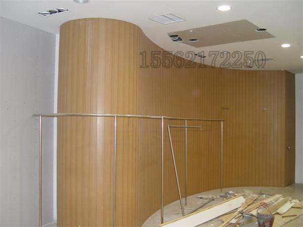 生态木形象墙
