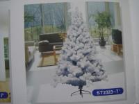积雪圣诞树