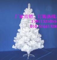 白色圣诞树