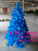 蓝色圣诞树